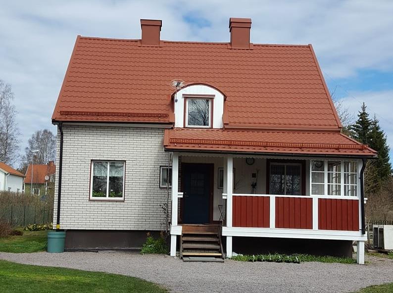 Leverans av takplåt till Borlänge