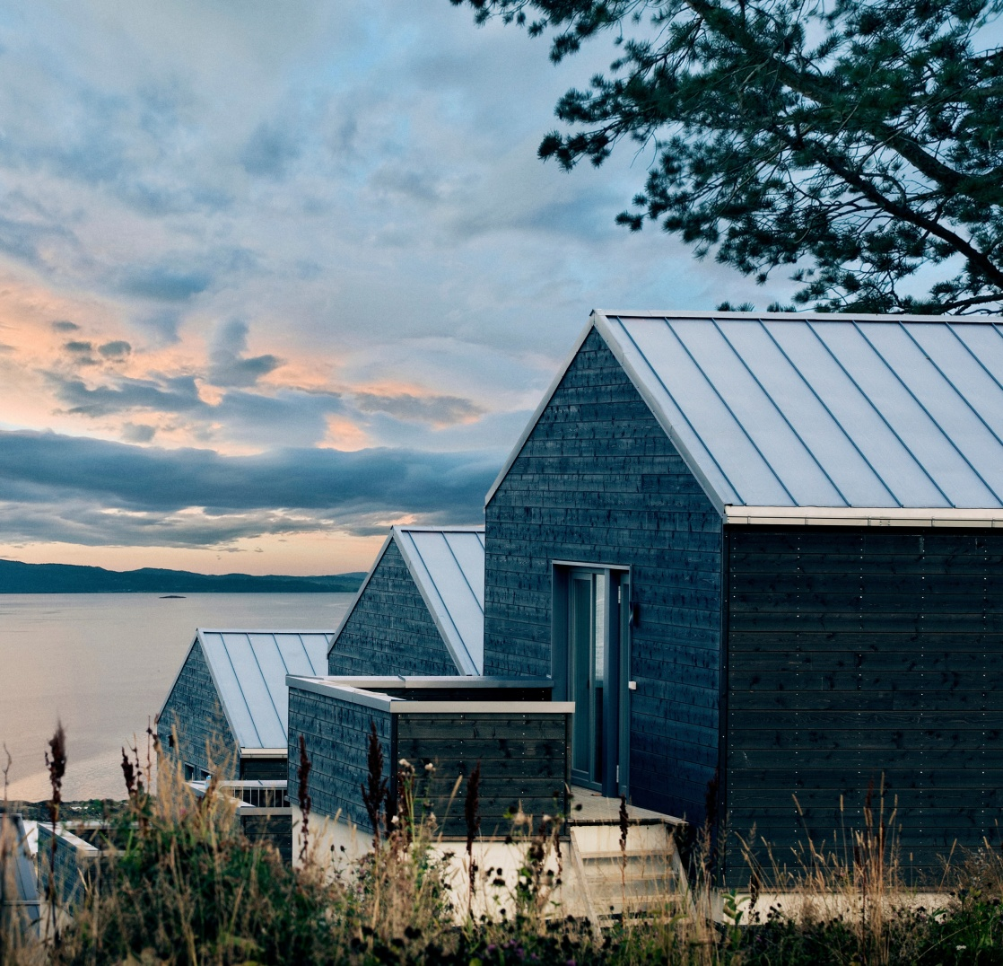 Moderna tak från plannja