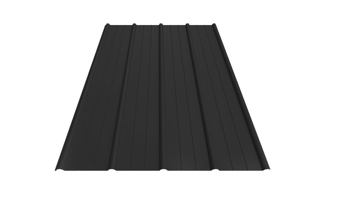 Pannplåt antracitgrå produktbild