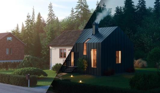 Plannja Pannplåt tak & Fasad
