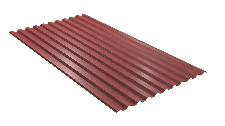 TRP20 35x35 Tegelröd från sidan