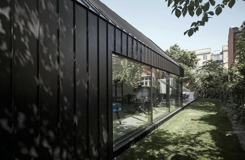 Trend på vägg och tak - Plannja Trend inspiration