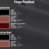 President kulörkarta produktbild