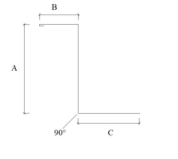 Foder z-profil profilgeometri